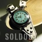 腕時計「ブルー・フラワー」TYPE-02 / METALLIC BLUE