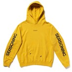 "SEASONING × COLOR HOODIE ""CURRY"" - YELLOW"
