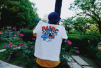 Panic Cat Tee【White / Bright Yellow】