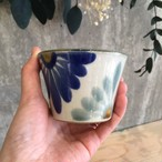 『育陶園』フリーカップ小菊紋