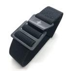 パラトルーパーストラップ (MNタイプ) 20mm オールブラック 腕時計ベルト