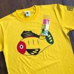 【送料無料】黄ぶなTシャツとキーホルダーのセット【疫病退散シリーズ】