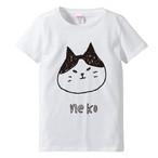 勝ち気な顔の猫 / Tシャツ