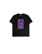 "XENO x BAKI Collaboration T-shirt ""HANAYAMA"" Black"