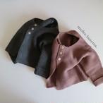 再入荷 guno【即納】France cardigan ニットカーディガン 90-100 韓国子供服guno 韓国子供服 子供服カーディガン