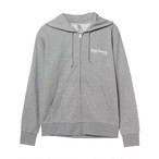 REAL  HOMME ジップパーカー GRAY