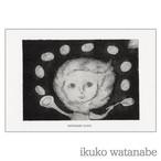 ポストカード - 太陽とホットケーキ - わたなべいくこ - no9-wat-02