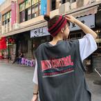 【tops】カジュアルアルファベットゆったりTシャツ19515639