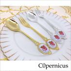 薔薇デザインスプーン&フォーク  バラ雑貨 浜松雑貨屋 C0pernicus