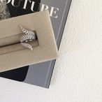 bijoux Feather Ring