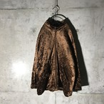 [used]light shiny brown jacket
