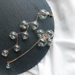 Bubble asymmetry pierce