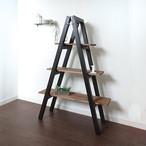 【BLACK STYLE】 LadderShelf / ラダーシェルフ / 飾り棚 / シェルフ
