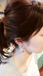 swingピアス/ Flying butterfly Pierced Earring