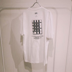 TENKI × A Man Collaboration Tee White × Black