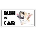 Bull. 「BIHI IN CAR」 マグネット クリーム
