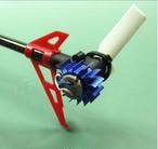 暑い季節にピッタリ★K120用 テールモーター用ヒートシンク 、テールモーター冷却装置、カラー / ブルー2