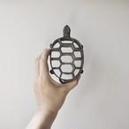 【花留め】亀甲型 剣山花器 花台 華道具 アンティーク