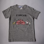 R&D.M.Co-/OLDMAN'S TAILOR オールドマンズテーラー Men's Circus T shirts gray