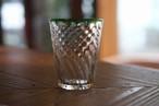 【カンナカガラス工房◆村松学】◆◆◆吹き硝子のモールコップ(小)*口巻緑◆◆⁂