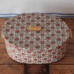 ドイツ ヴィンテージ 裁縫箱 レトロなバラの模様の ソーイングボックス