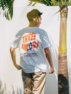 【4/14(WED)20:00 販売開始】ThreeArrows Union S/S TEE(white)