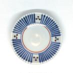 【砥部焼/梅山窯】3寸小皿(三つ紋)