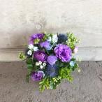 母の日アレンジメント【Blue purple】