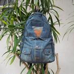 【残り1点】Levis Re-make Backpack《DARKBLUE》