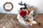 【クリスマス】Merry Christmas2017✳︎クリスマスカラープリザーブドフラワーアレンジメント