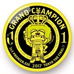 TOKYO DIME.EXE 2017 GRAND CHAMPION 記念缶バッチ