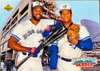 MLBカード 93UPPERDECK Joe Cater & Roberto Alomor #42  BLUEJAYS TEAMMATE