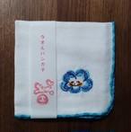 刺繍ガーゼハンカチ 雲