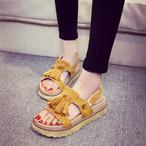 retro fringe summer sandal 1380