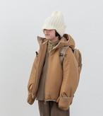 MOUN TEN. マウンテン air mitten blouson col.:beige size:140