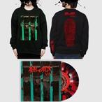 【 予約 】『殺しの呪文』【 SET L 】-  7inch vinyl record + download code + スウェット黒/ The Conjuring SET L