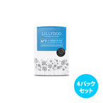 [4パックセット] Lillydoo エコ紙おむつ(サイズ 7)