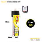 新発売◆ガオニンGNB HV 660mAh 90-180C 1S 3.8V サイズ7.8×18×58mm 15.5g