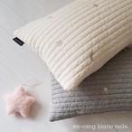 星と月の刺繍 イブル ベビー枕(全2色)