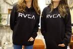 RVCA メンズ ロゴパーカー(ブラック)¥9500+tax