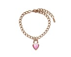 Never End  Chain Choker/Necklace Pink #0102