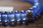 ボロビーズブレスレット 8mm 『紫陽花』