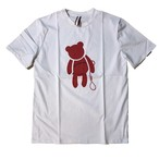 【SKANDHAL】VENEZIA クマ Tシャツ 【ホワイト】【新作】イタリアンウェア【送料無料】《M&W》