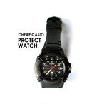 CASIO PROTECT WATCH [ BLACK ]