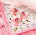 【Christmas限定】phantomFLOWER crystal set ピアス×リング