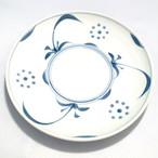 【砥部焼/梅山窯】8寸丸皿・切立(太陽)