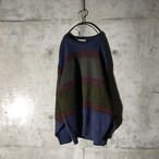 [used] two colour switching knit