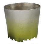 SHIKICOLORS Bright green Rock Cup
