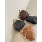 【屋上の音楽】Gamaguchi wallet (Lorica)/ がま口財布(ロリカ)
