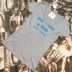 Abercrombie&Fitch WOMEN VネックTシャツ Lサイズ